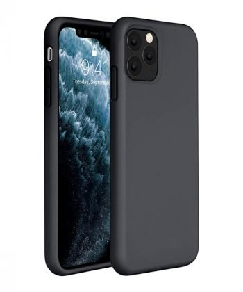 Black Liquid Silicone Case