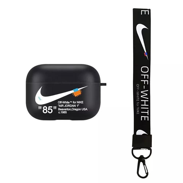 off white nike AirPods Pro case